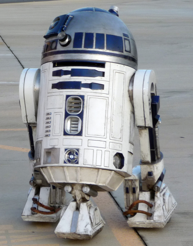 Building My Own R2 D2 Mike Verta Dot Com