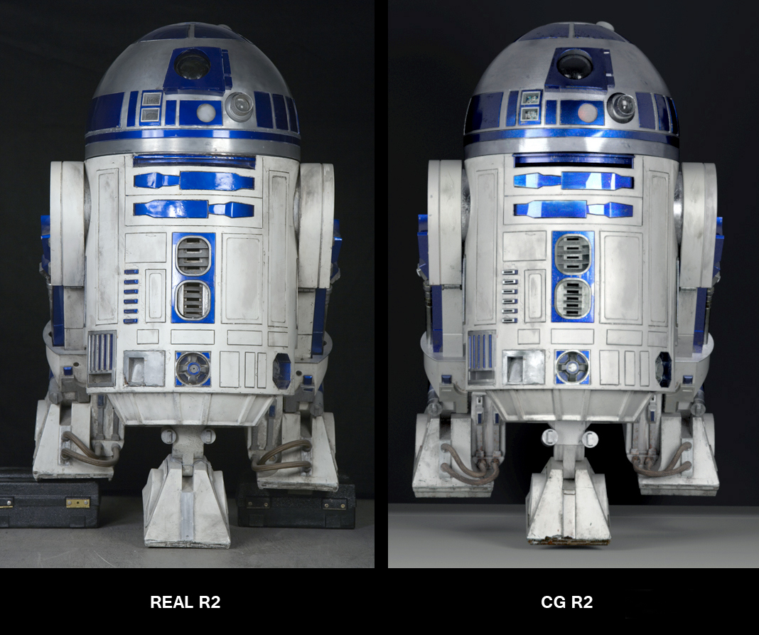 R2d2 360 View CG R2-D2: Behind-the-S...