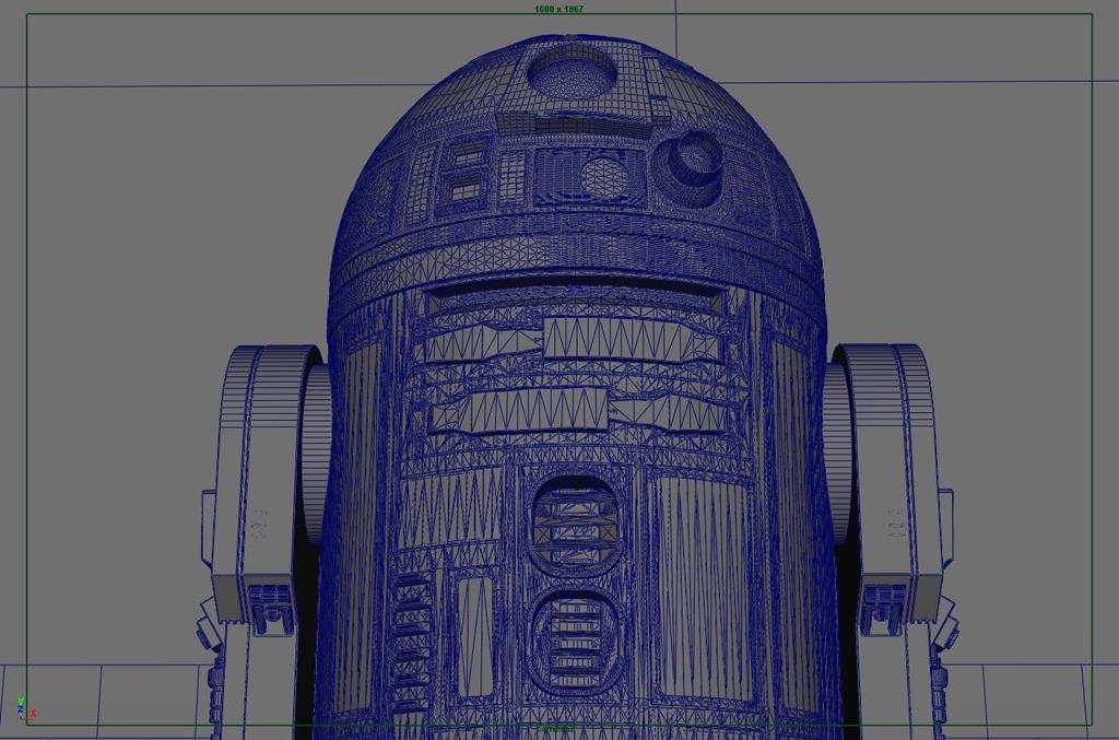 CG R2-D2: Behind-the-Scenes - Mike Verta